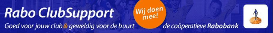 Rabobank ClubSupport banner